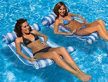 bikini camp float pool swimsuit water