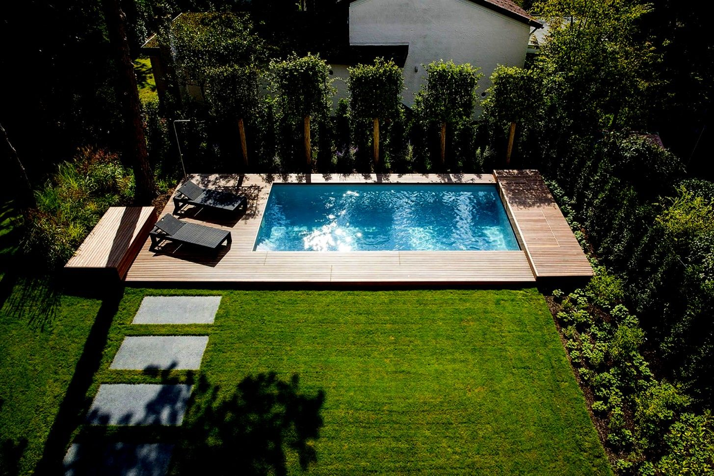 Pool Deko Bilder Bilder Deko Pool Pool Landscape Design Backyard Pool Landscaping Swimming Pools Backyard