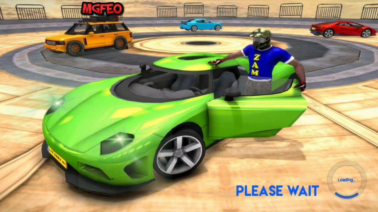 Car Racing Stunt Game Mega Ramp Car Stunt Games Mega Car