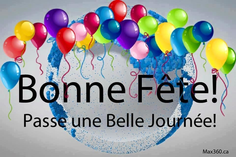 Bonne Fete Birthday Card Messages Happy Birthday In French