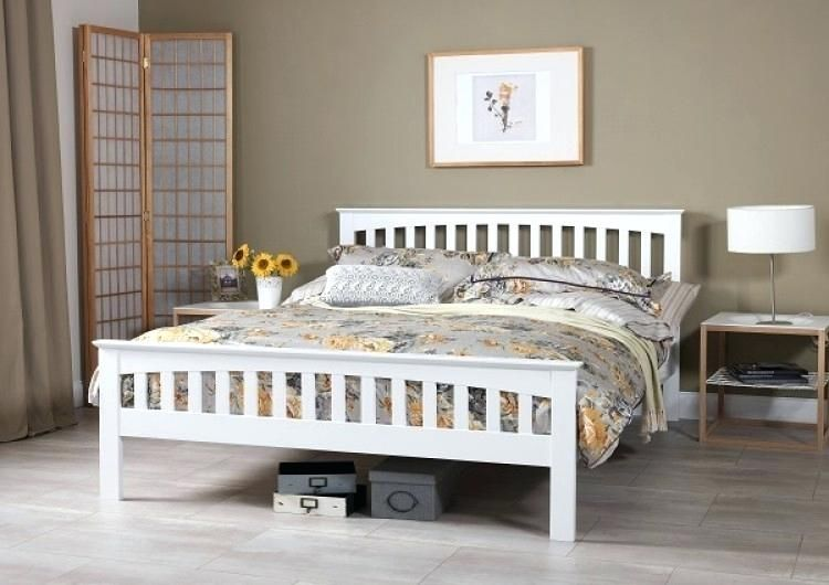68 luxury stock of king size white wooden bed frame bedroom bed rh pinterest com
