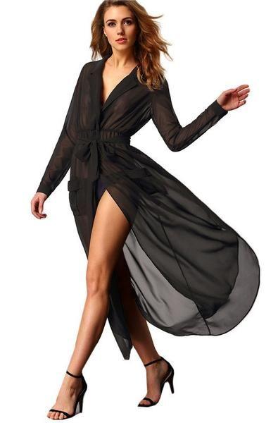 Long Sexy Chiffon Dress Sample For Beginners Pinterest Dresses