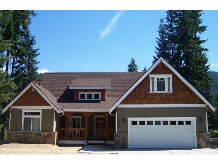 curb appeal - Craftsman Ranch Home Exterior