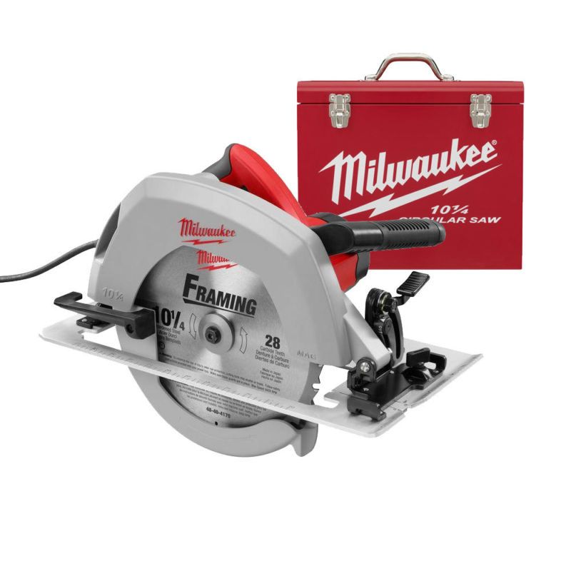 Milwaukee 6470 21 10 1 4 Circular Saw Plus Case New 99 9 Fb Auth Seller Warranty Free Ship Back Guar With Images Best Circular Saw Circular Saw Reviews Circular Saw