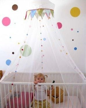 Brand new Ikea Cot canopy for cotbed, nursery, crib, moses basket circus design | eBay