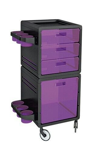 Hairdressing Rolling Trolley Cart Beauty Salon Hair Dryer Storage Cart Spa Salon