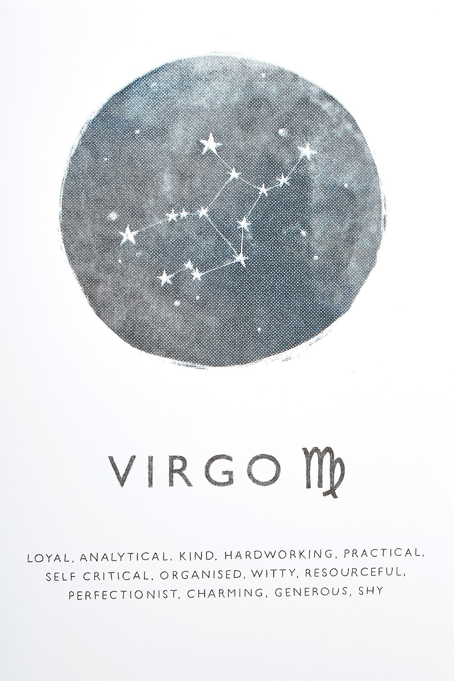 Photo of Ohh Deer Virgo Horoscope Wall Art Print