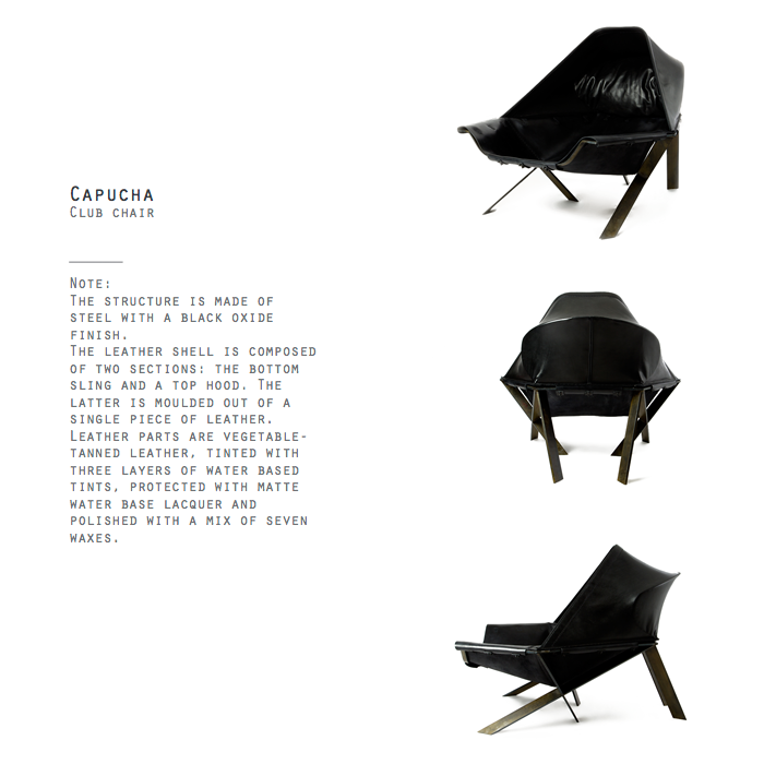 Capucha Club Chair by Khourianbeer.