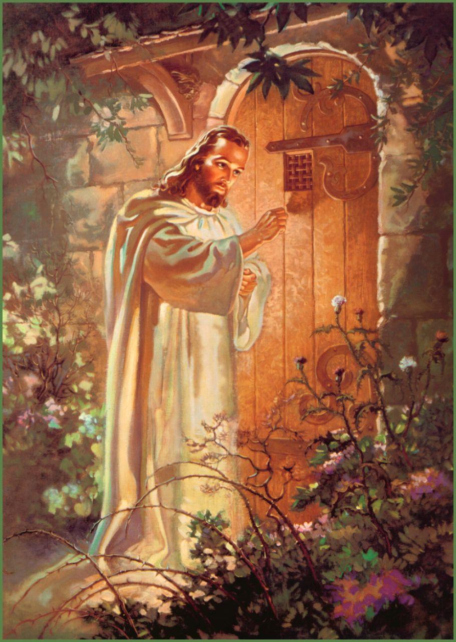Christ At Heart S Door Warner Sallman King Of Kings And