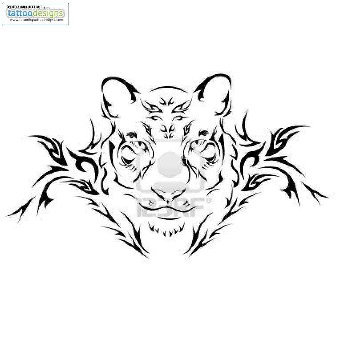 Pin By Bobbi Maffeo On Drawing Ideas Tiger Tattoo Design Tribal Tattoos Tribal Tiger