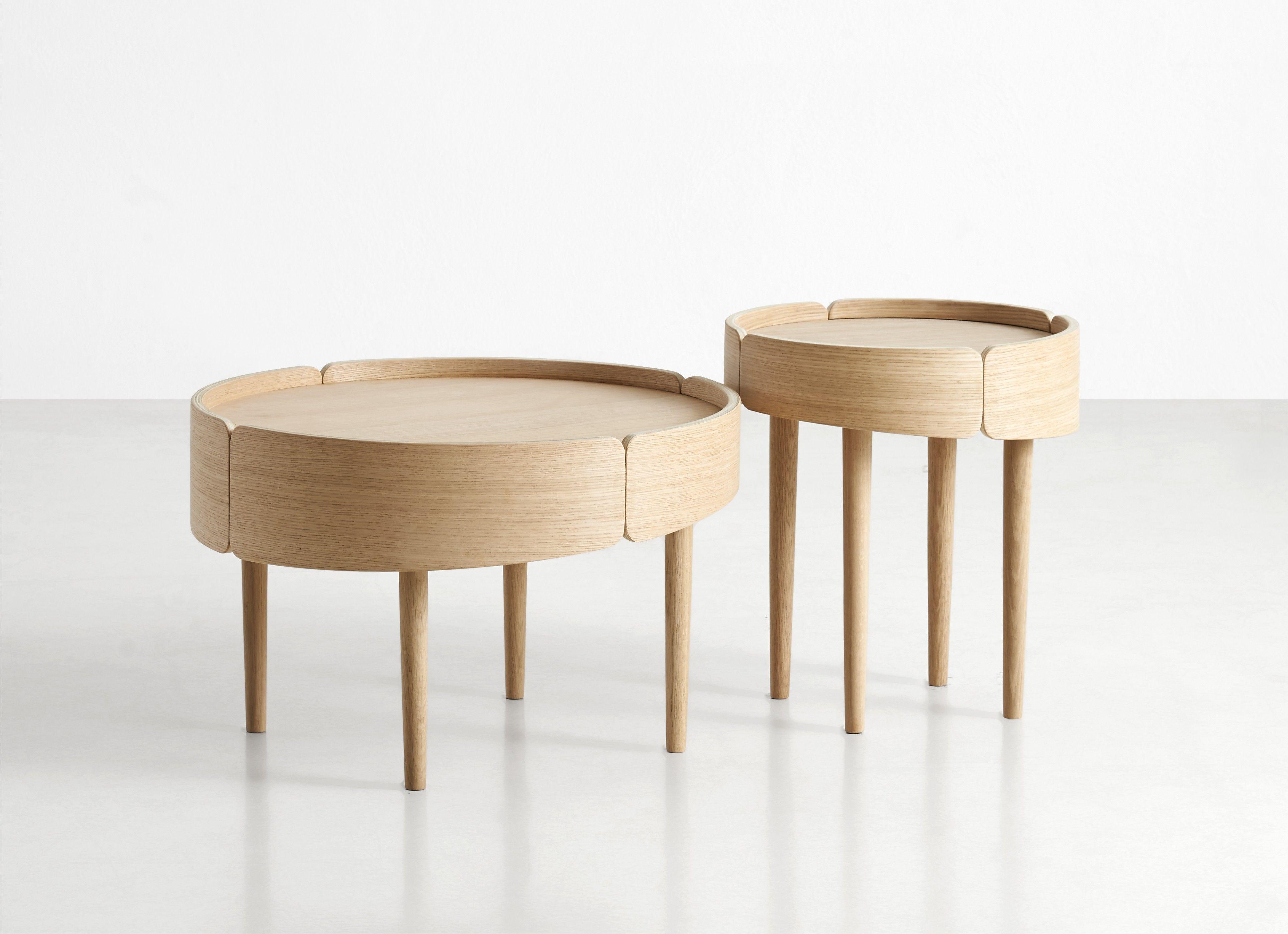 Skirt table by Mikko Laakkonen for Woud