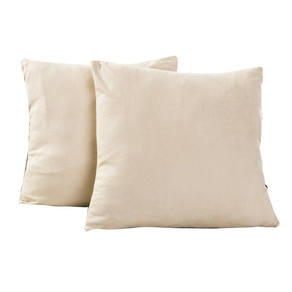 best dreamcity set of 2 faux suede cushion covers pillowcase for rh pinterest com