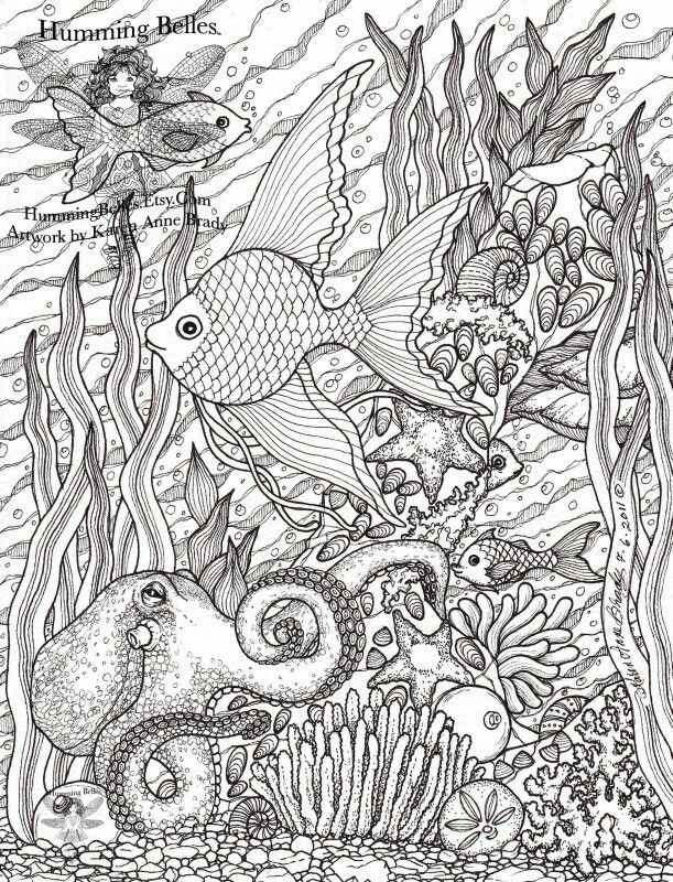 Hard coloring pages | difficult coloring pages | Pinterest | Adult ...