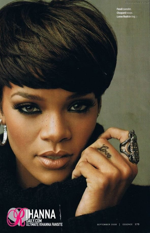 Pics of Rihanna Srt Hair | Black hair, Rihanna srt hair and ...