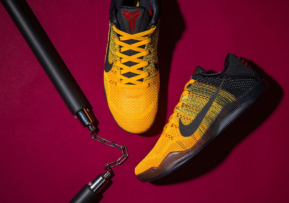 designer fashion c342d 9647b Nike Kobe 11 Elite Low Bruce Lee Release Date   SneakerNews.com