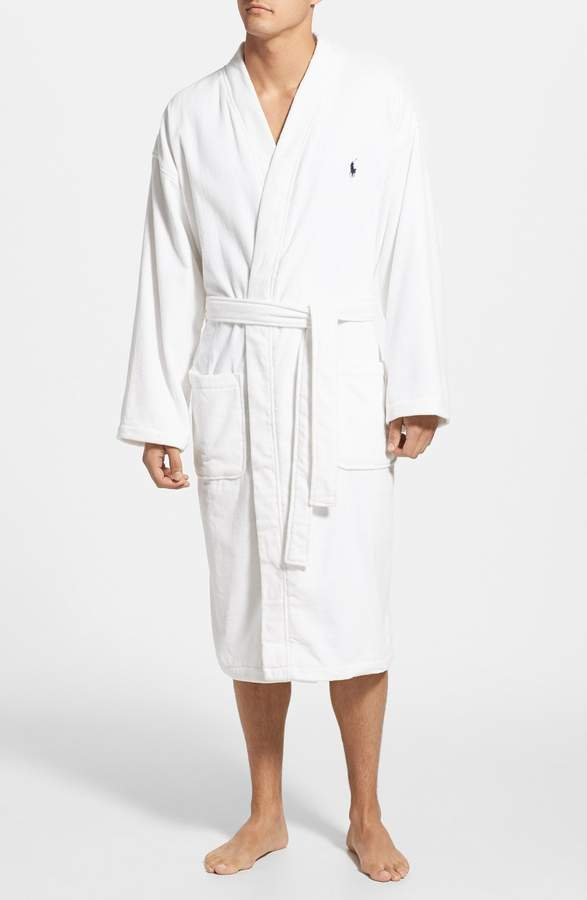 bd912a4554 Polo Ralph Lauren Cotton Fleece Robe