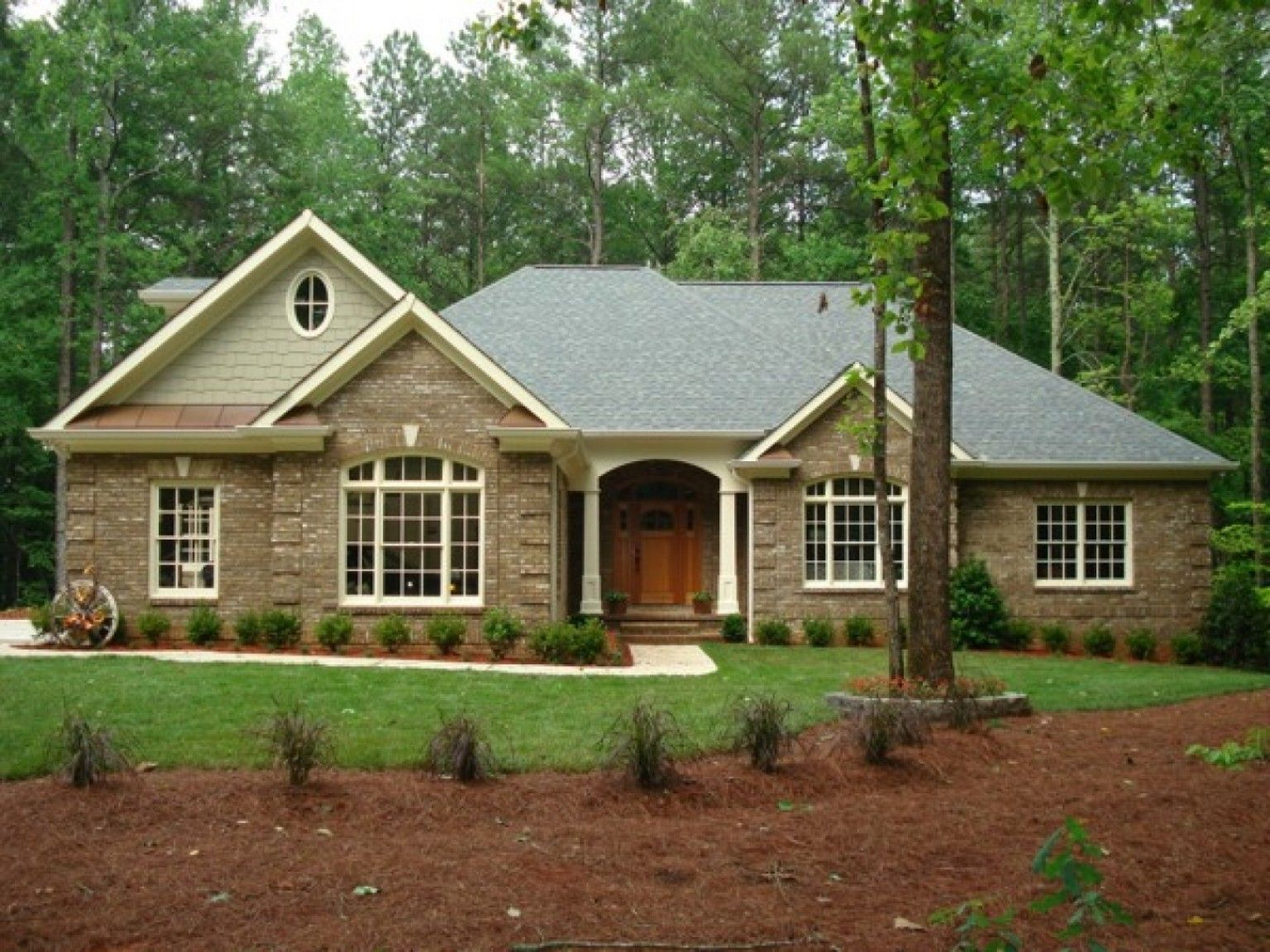 Styles For Brick Homes Cbbcee Modern Ranch