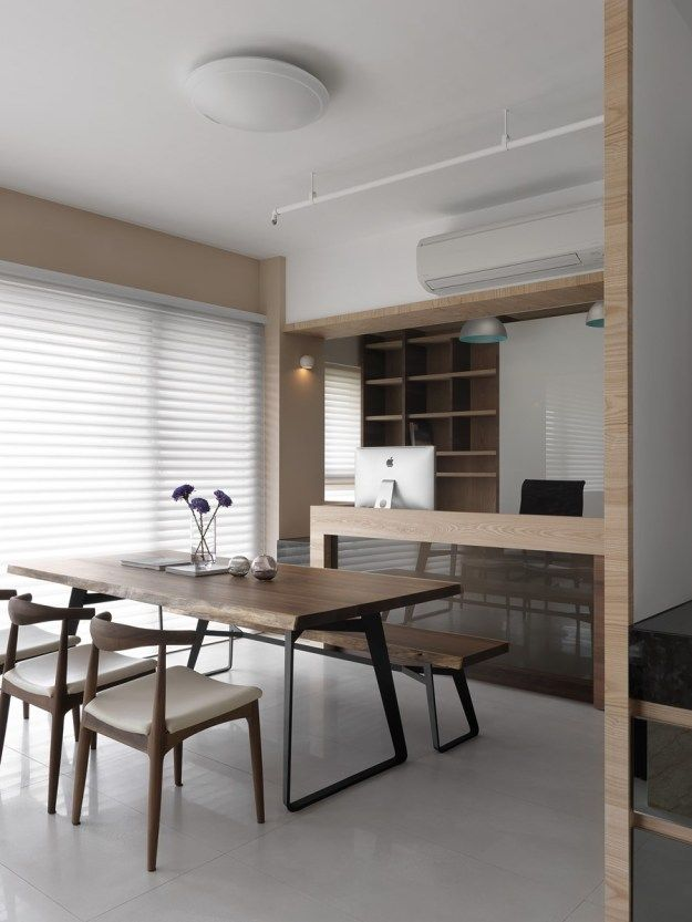 Alexu0027s home in Taiwan by HOZO interior