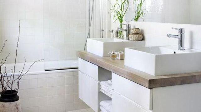 plus de 1000 ides propos de salle de bain sur pinterest google fils et belle - Tablette Salle De Bain Blanche