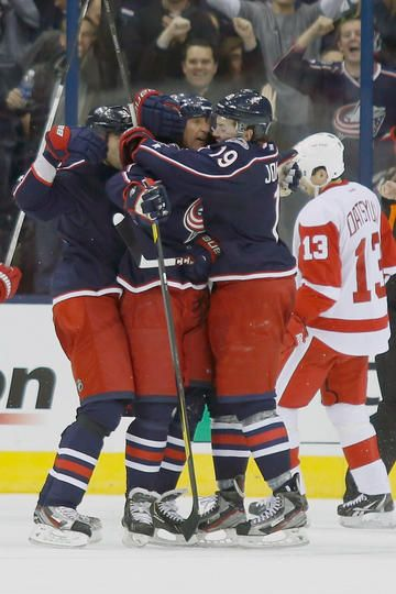 #VINNING! Blue Jackets vs. Red Wings - 01/21/2013 - Columbus Blue Jackets - Photos