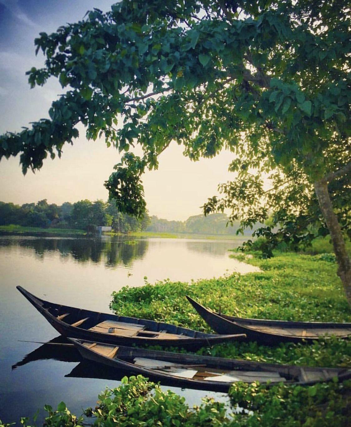 Beautiful Bangladesh Water Boats And Life Travelbangladesh Travellingbangladesh Travel Beautifulbangladesh Explorebangladesh S Paesaggi Fotografia Foto