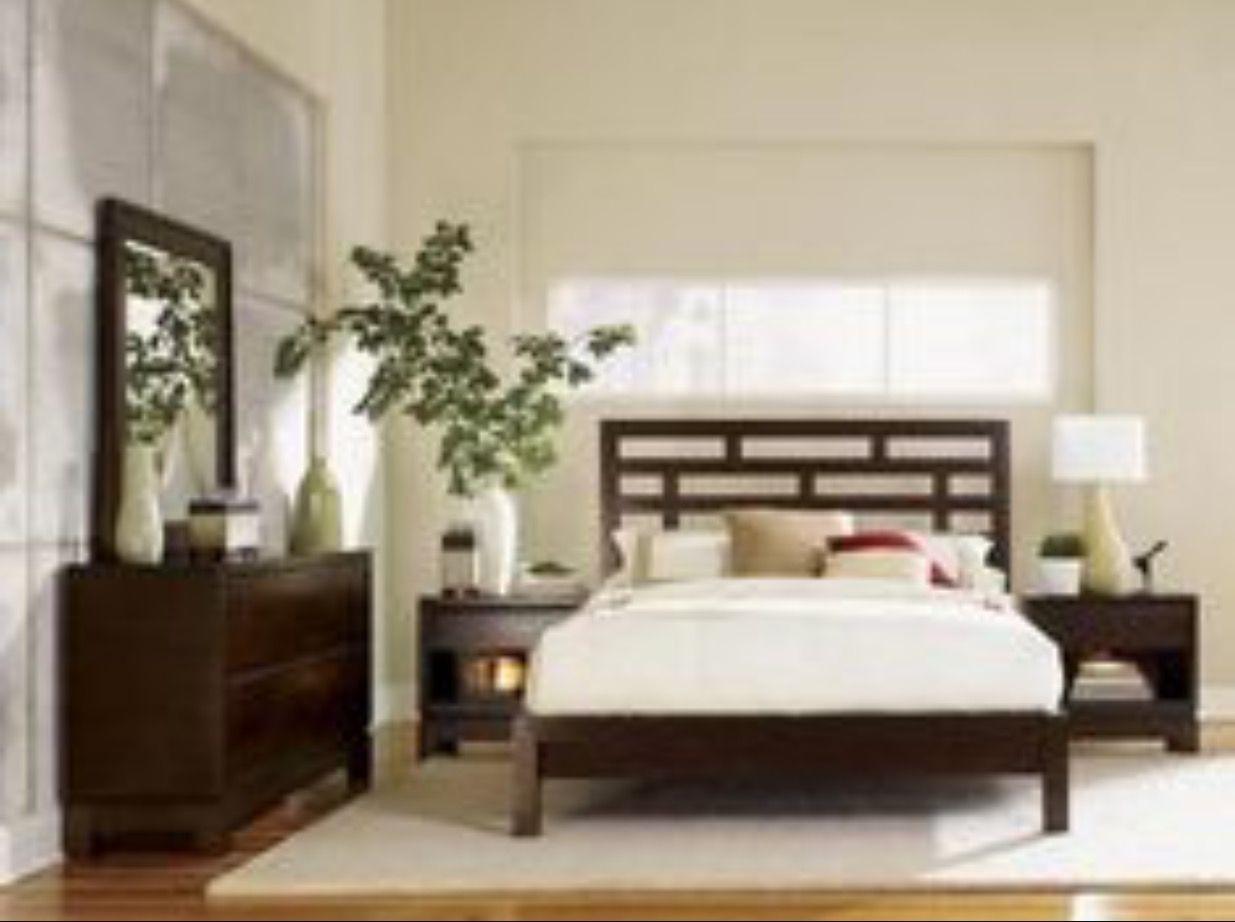 Asian Bed And Nightstand Bedrooms Bedroom Bedroom Furniture Bed