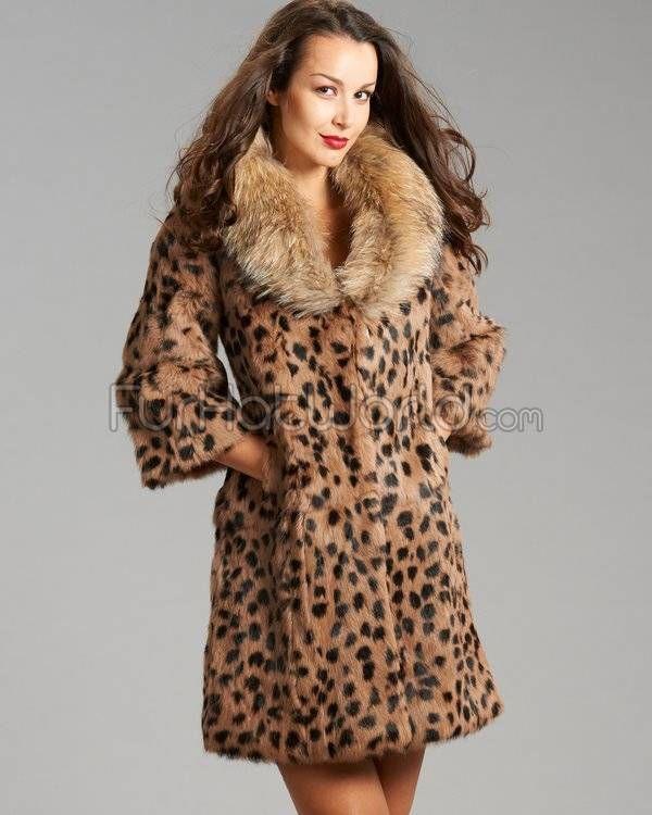 1000  images about Leopard Print Fur Coat on Pinterest | Coats