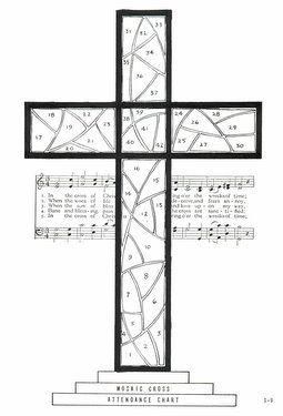 Cgs9 Mosaic Cross Attendance Chart Attendance Chart Mosaic