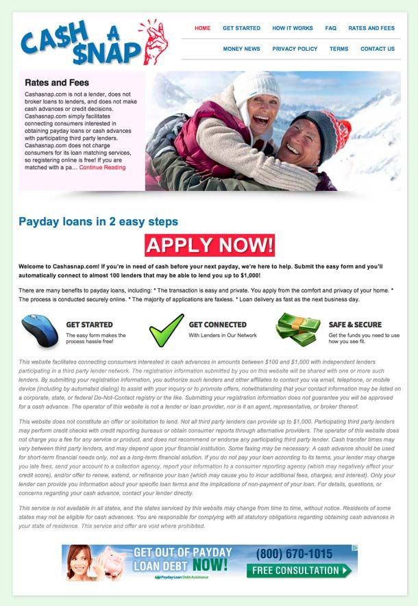 A Payday Loan Is Not Meant To Reduce Credit Card Debt: Http