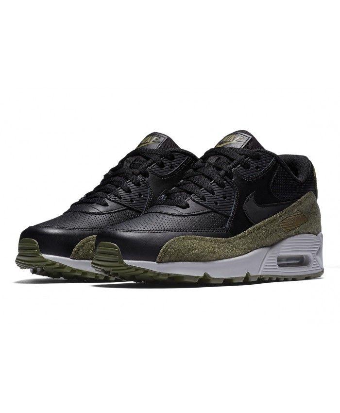 Nike Air Max 90 Hal New Black Medium Olive Trainers Sale