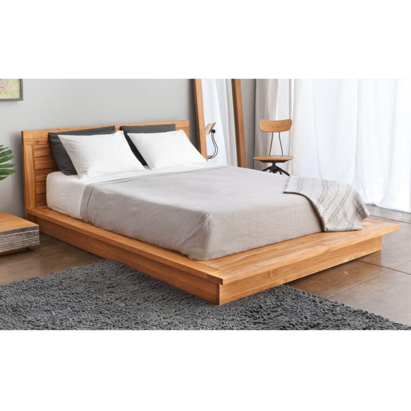 Best Queen Wood Platform Bed With Headboard Bett Möbel Bett 400 x 300