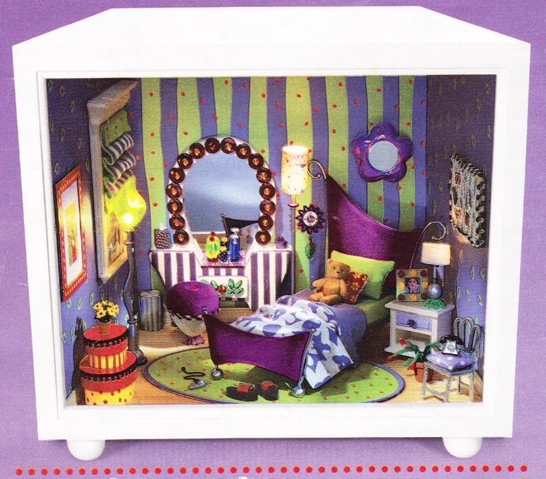 American Girl AG Mini/'s Illuma Room Groovy Little Things Pink Wall Flower