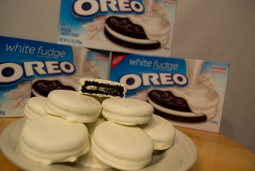 White Fudge Oreo Cookies