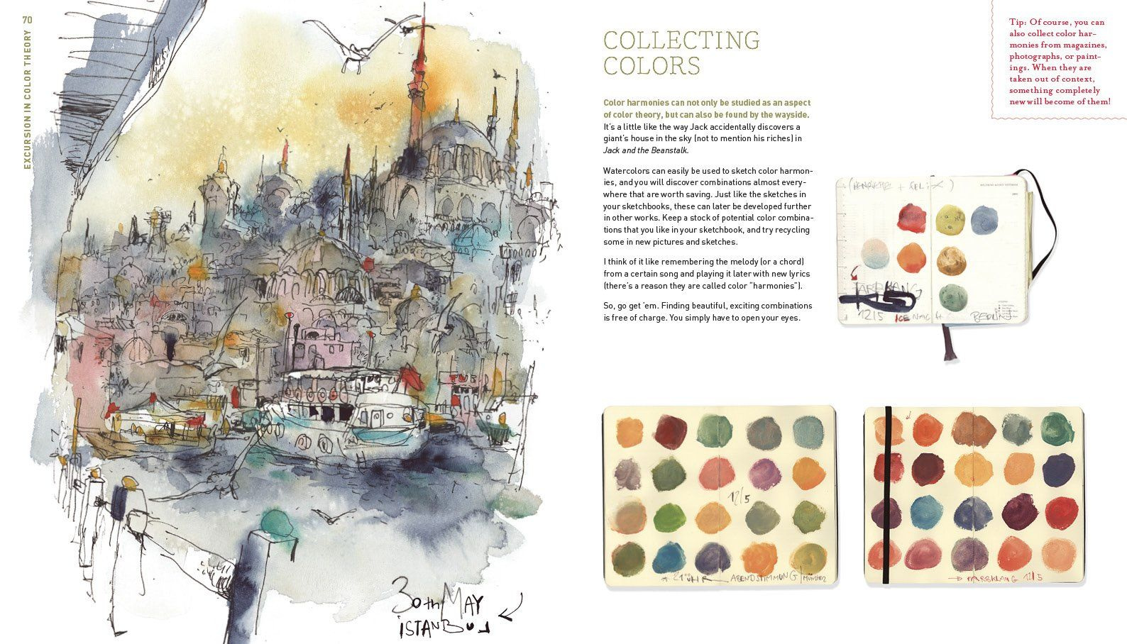 Art Book Review Urban Watercolor Sketching By Felix Scheinberger