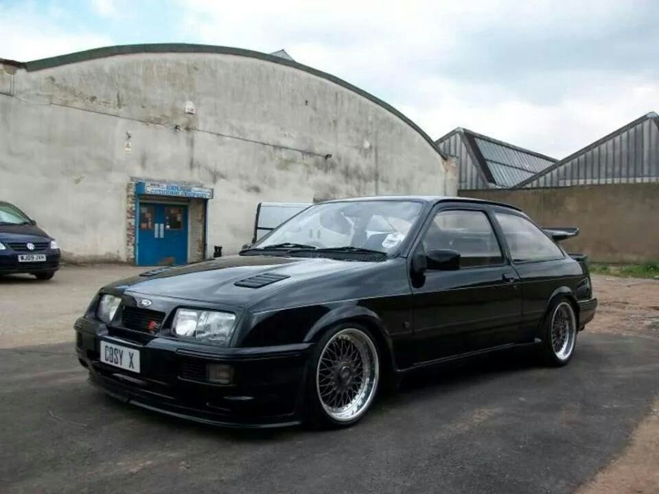 Sierra Cosworth With Images Retro Cars Car Ford Ford Sierra