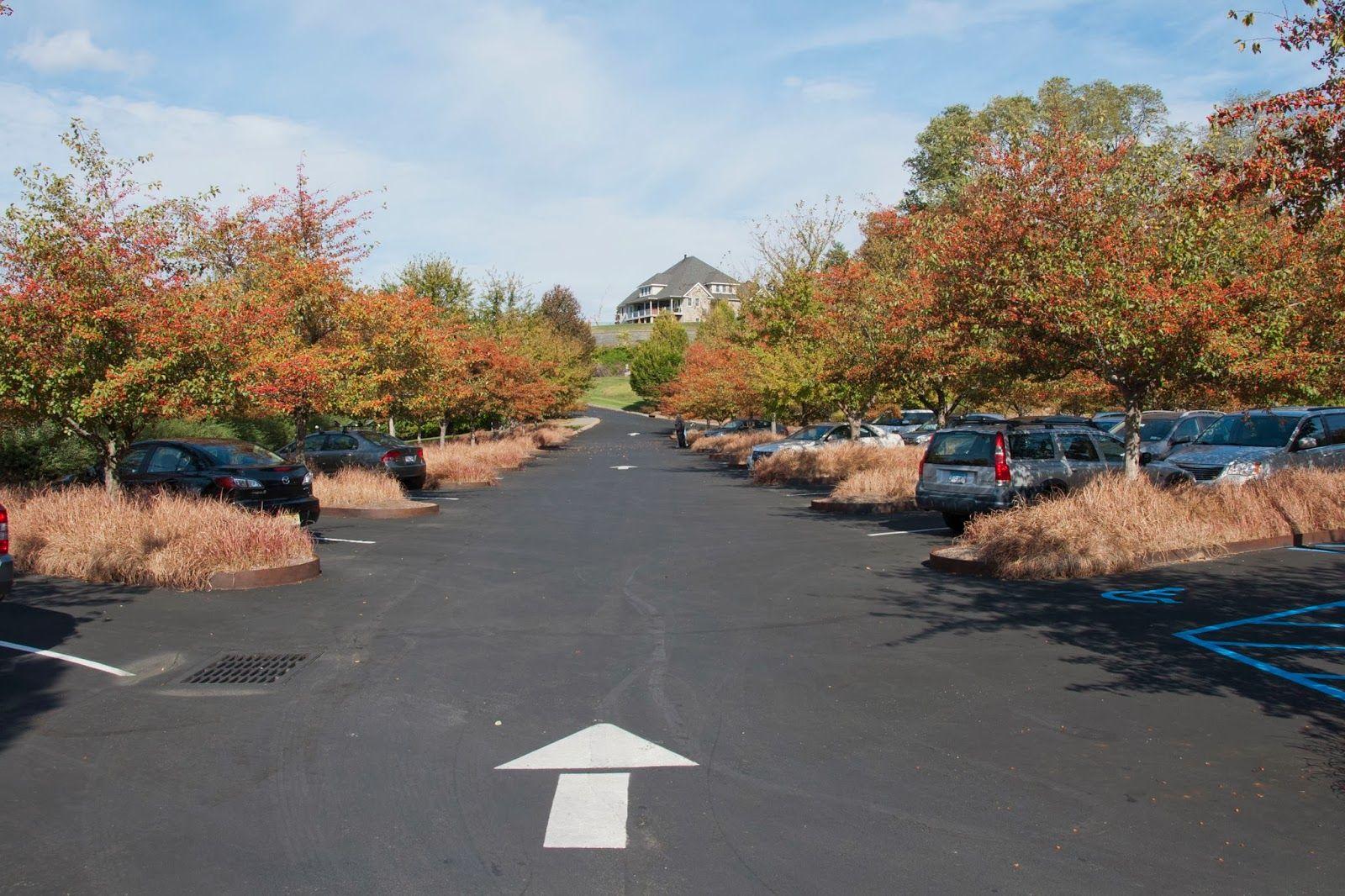Dia Beacon Parking Lot Landschap