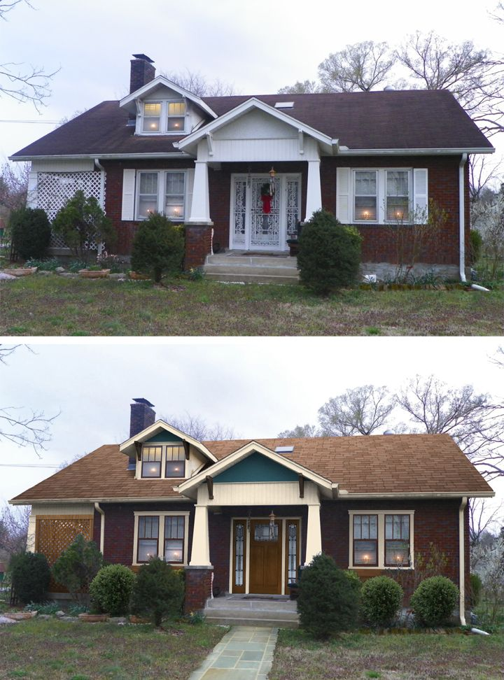 Home Exterior Renovation Before And After home exteriors before and after - home design ideas
