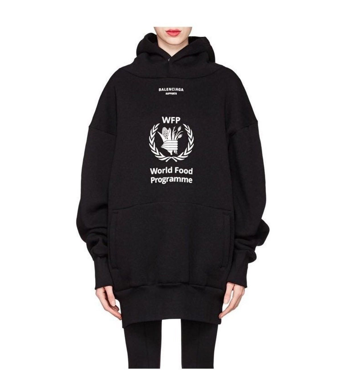 World Food Programme Balenciaga Hoodie On Mercari In 2020 World Food Programme Food Program Hoodies