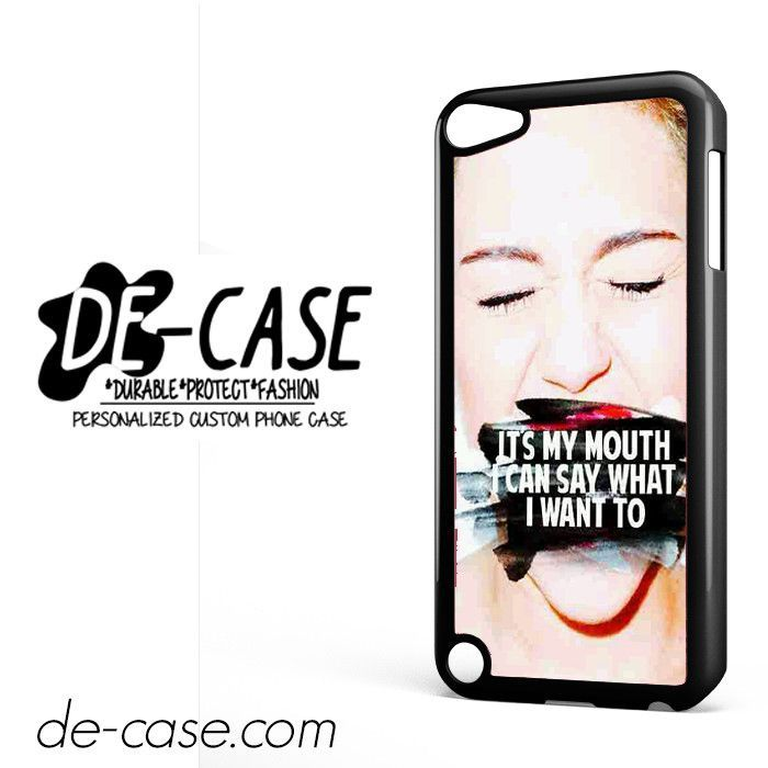 Miley Cyrus Quotes DEAL-7240 Apple Phonecase Cover For Ipod Touch 5