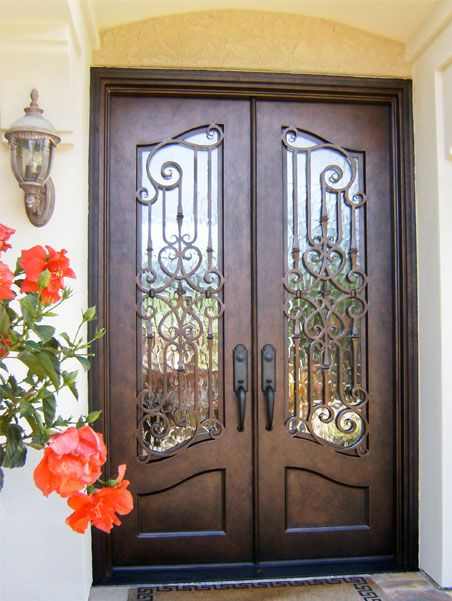 french curve with fleur di lis clark hall iron doors charlotte nc