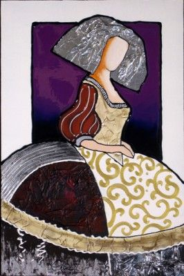 cuadros de meninas modernas artistico pinteres On cuadros meninas modernas