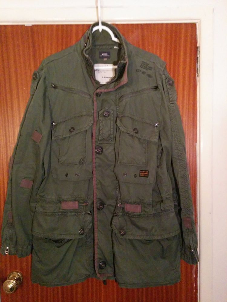 South East District Kbwg 100 Originals G Star Raw 3301 Army Jacket Military Coat Caused By Pulling Hands In Out Without Army Jacket G Star Military Army