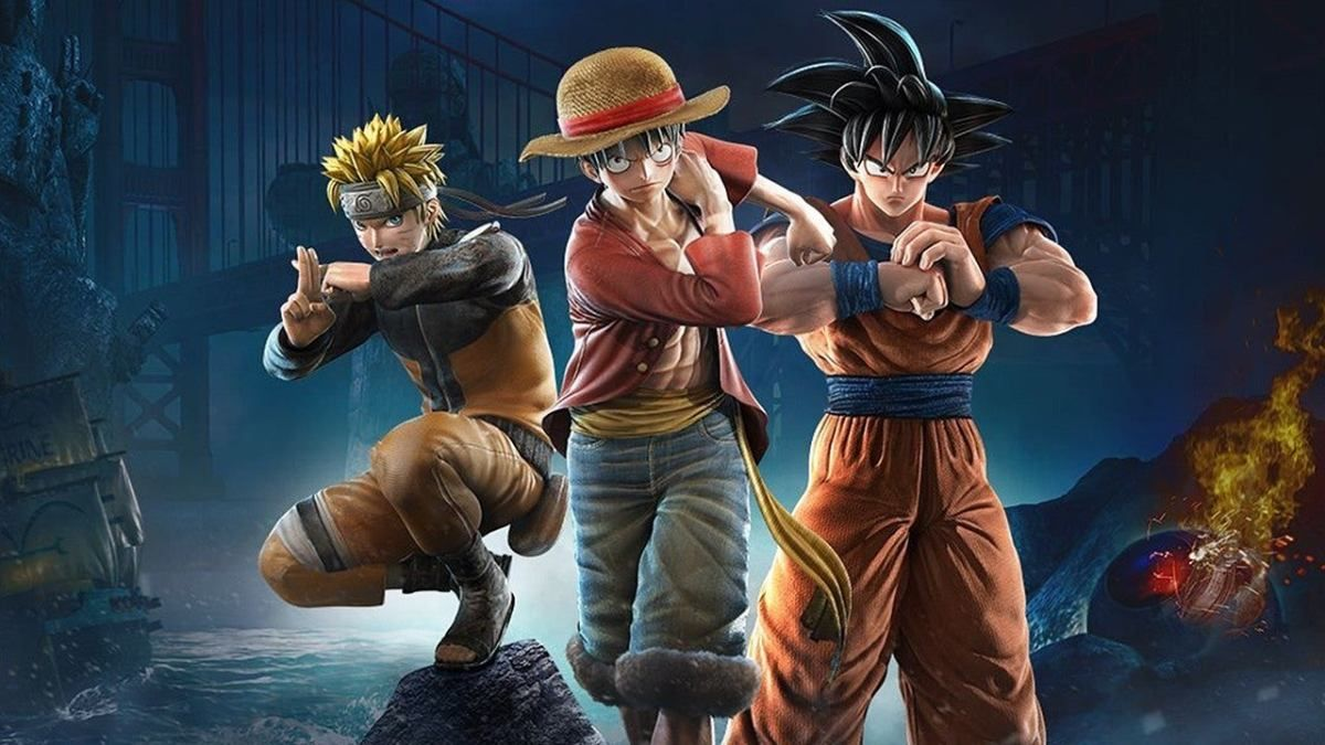 Jump Force Arrives August 28th Nintendo Switch News Nintendoreporters Bandai Anime Crossover Anime