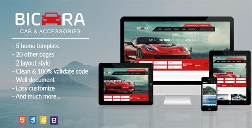 Themeforest Bicara V1 0 Car Dealer Html Template Free