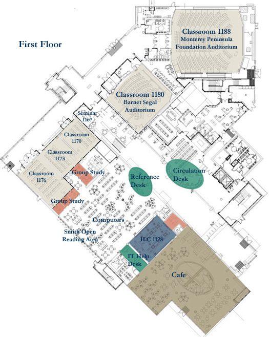 Csu Monterey Bay Campus Map Image Gallery HCPR