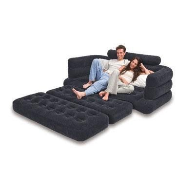 Intex 68566e Inflatable Pull Out Sofa Is A Versatile Sofa That