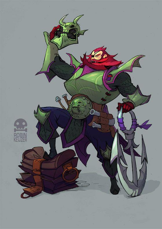 Demon Pirate Captain by RobinKeijzer on deviantART