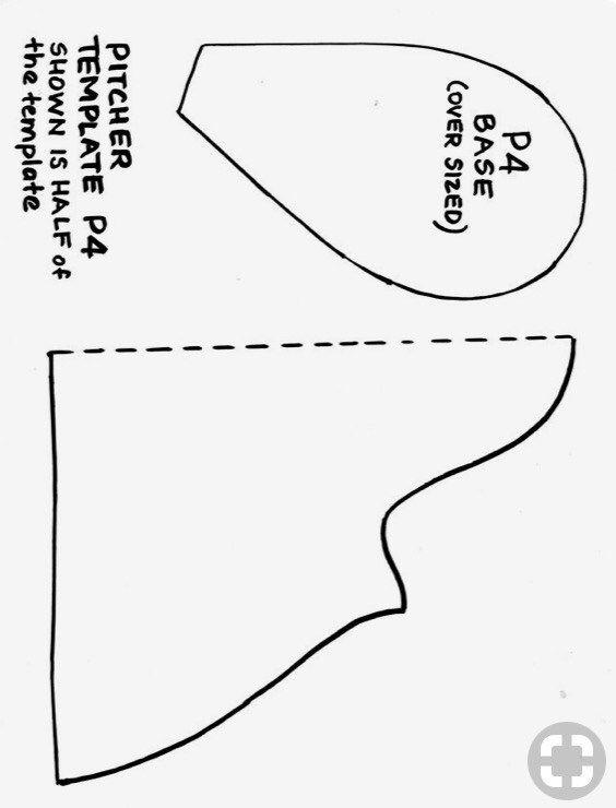 slab pottery templates