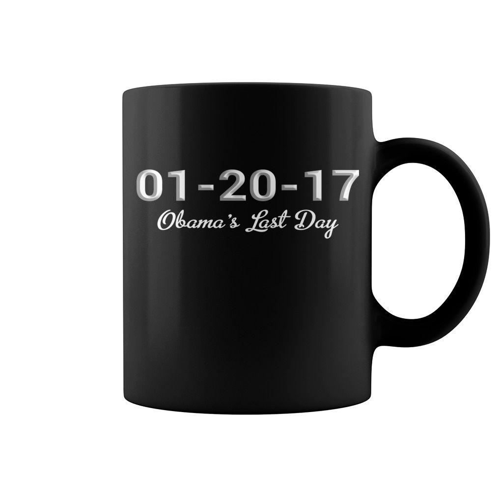 Obama's Last Day New Mug  coffee mug, papa mug, cool mugs, funny coffee mugs, coffee mug funny, mug gift, #mugs #ideas #gift #mugcoffee #coolmug