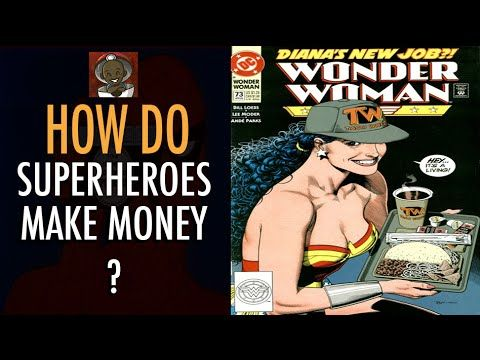 How Do Superheroes Make Money?